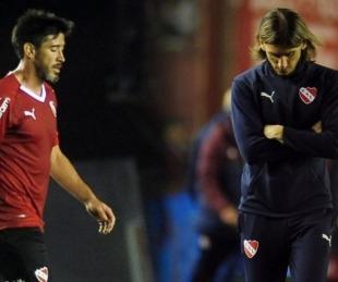 foto: Una pizarra rota y fuerte discusión: Beccacece separe a Pablo Pérez