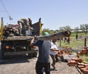 foto: La Caja Municipal recuperó un predio que había sido usurpado