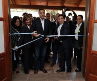 foto: En Loreto, Gustavo Valdés inauguró un museo y un acceso al Iberá