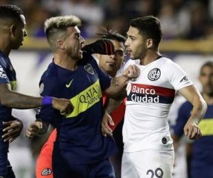 foto: Boca le ganó el clásico a San Lorenzo y recuperó la cima