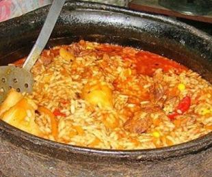 foto: Preparan la gran Fiesta del Guiso de arroz en Riachuelo