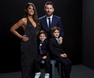 foto: Messi ganó el premio The Best y es mejor jugador del mundo