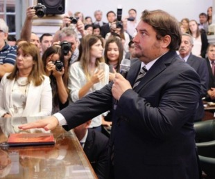 foto: Tras sufrir un ACV se recupera el diputado provincial Diego Pellegrini