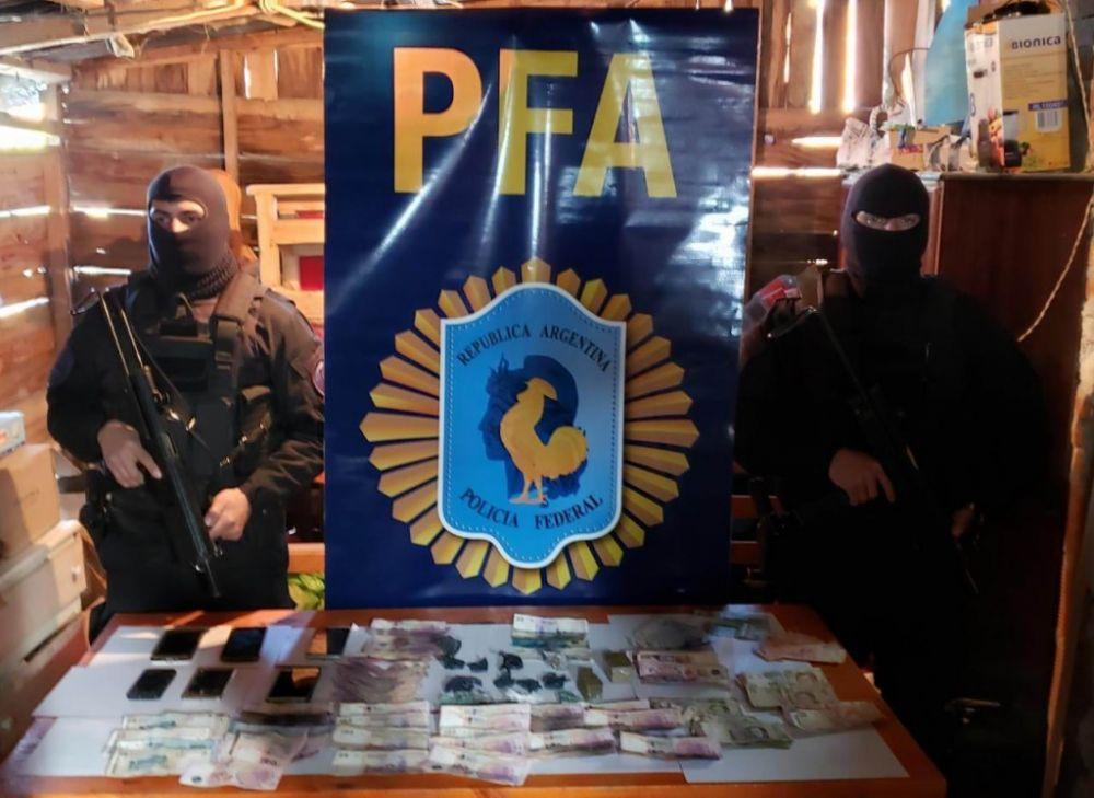 foto: Banda narco operaba en varios barrios capitalinos
