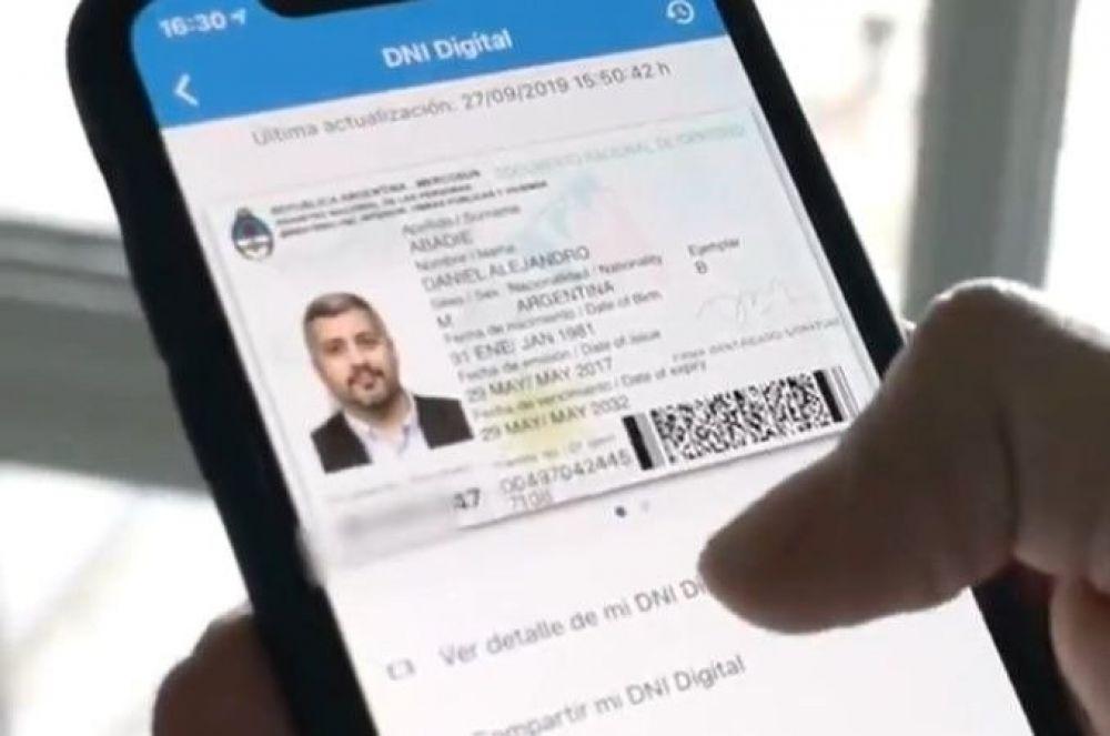 foto: El Gobierno nacional presentó hoy El DNI en tu celular