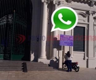 foto: Pidieron sanciones a los alumnos que bloquearon WhatsApp