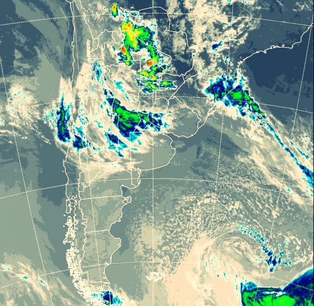 foto: Persiste el alerta por tormentas para Corrientes y cuatro provincias
