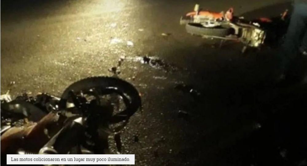 foto: Beba murió al chocar una moto en la que viajaban cuatro personas