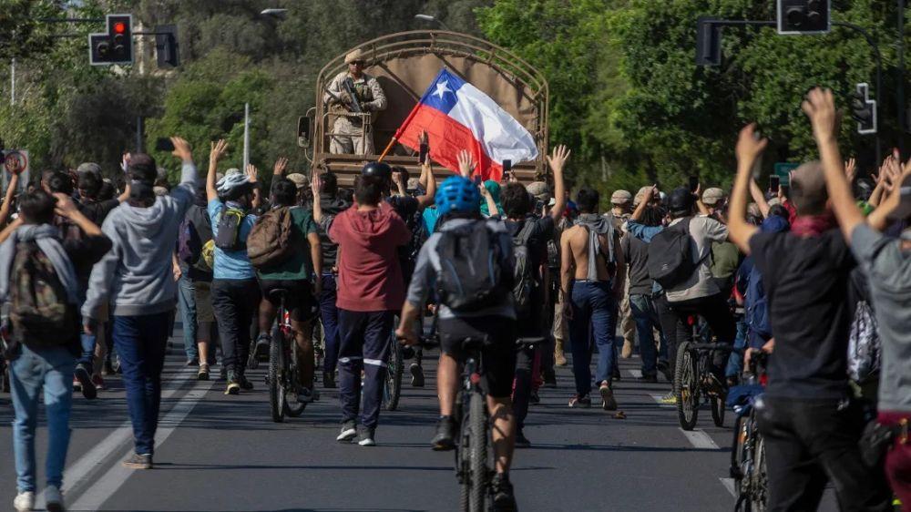 foto: Tensión y emergencia en Chile: así se vivieron las protestas