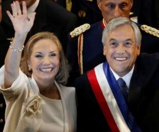 foto: Filtran polémico audio de la esposa de Piñera las protestas