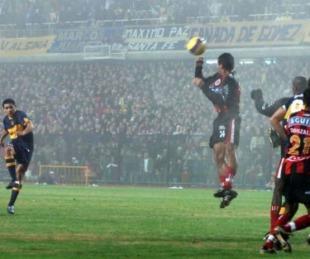 foto: La única vez que Boca remontó dos goles