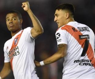 foto: River le ganó 2-1 a Colón y se subió a la cima de la Superliga