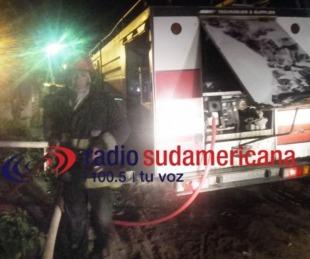 foto: Familia perdió todo en el voraz incendio de su vivienda