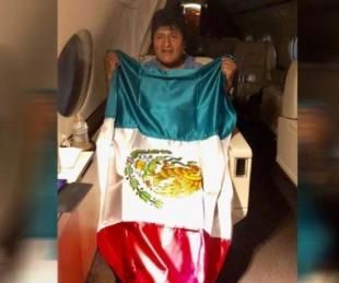 foto: Evo consigue asilo en México y Bolivia padece el vacío de poder