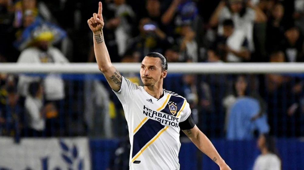 foto: Zlatan anunció que deja LA Galaxy a su estilo: Vuelvan al béisbol