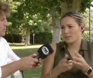 foto: Rocío Oliva confirmó la salida de Diego Maradona de Gimnasia
