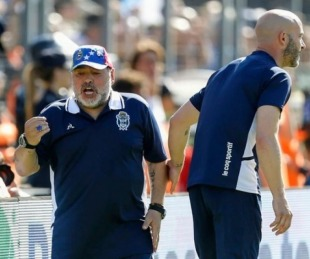 foto: Diego Maradona dejó de ser el técnico de Gimnasia
