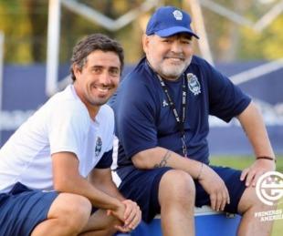 foto: Revolución en el Lobo: Diego Maradona vuelve a Gimnasia