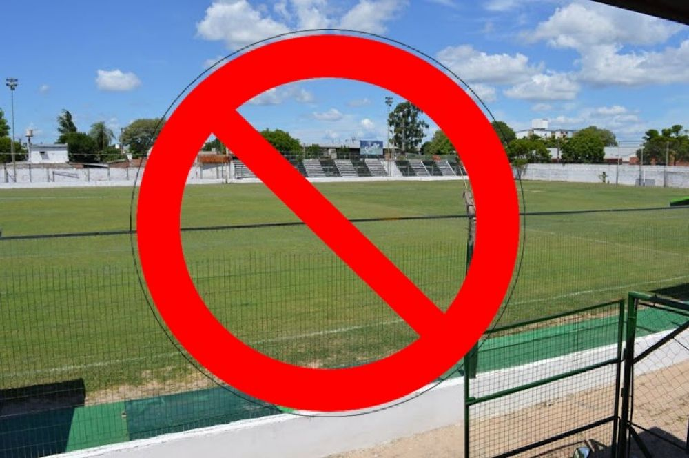 foto: Torneo Reducido: No habilitaron la cancha de Sportivo Ferroviario