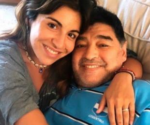 foto: El emotivo posteo de Gianinna Maradona sobre Diego y su hijo Benjamín