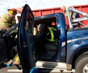 foto: Prefectos de Corrientes y Misiones murieron tras un accidente