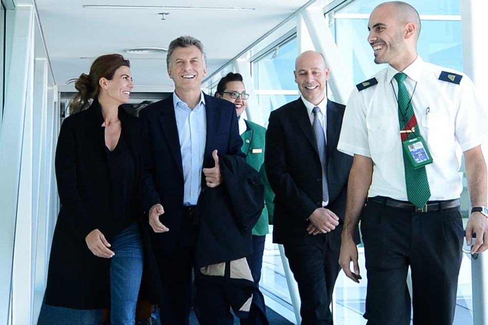 foto: Macri llegó a Madrid para participar en la cumbre de cambio climático