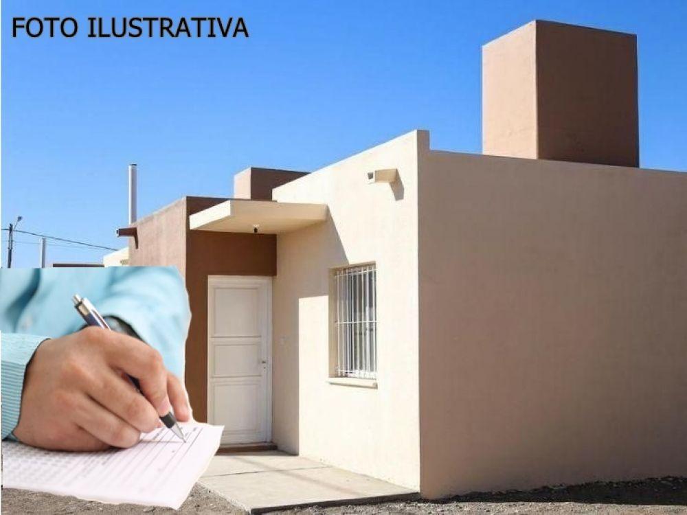 foto: Inicia la preincripción de las 100 viviendas para municipales