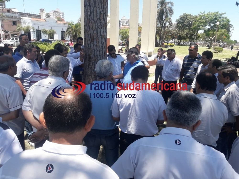 foto: Se levantó el paro de colectivos y vuelven a circular las unidades