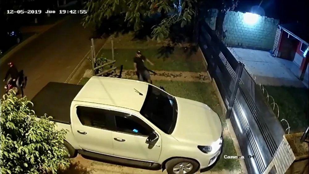 foto: Dos sicarios asesinaron a un ex juez en la puerta de su casa