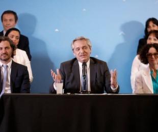 Alberto Fern�ndez present� al Gabinete que lo acompa�ar� a partir del 10 de diciembre