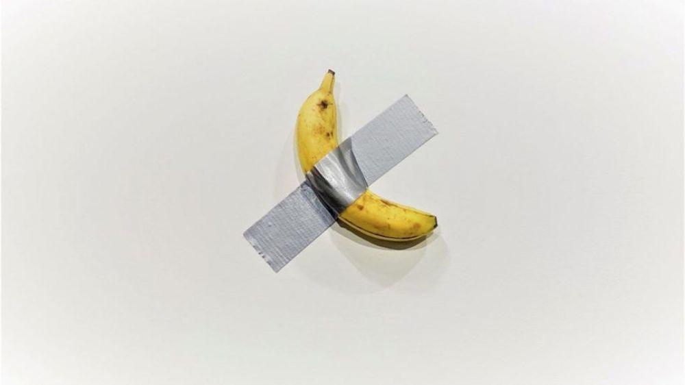foto: La banana de los 120 mil dólares