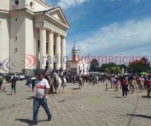 foto: Sudamericana estuvo en Itatí para celebrar a la Virgen María