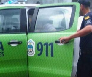 foto: Se metió a una casa, intentó agredir a policías y terminó detenido