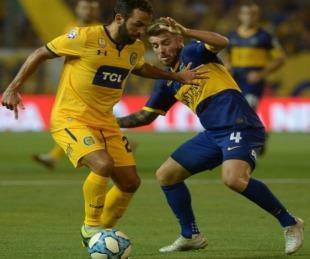 foto: Boca no pudo con Rosario Central en el Gigante de Arroyito