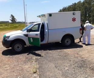 foto: Ruta 14: Gendarmes reanimaron a un hombre que se descompensó