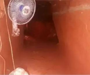 foto: La Policía descubrió un túnel de 60 metros para robar un banco