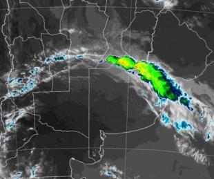 foto: Elevan alerta de corto plazo por tormentas fuertes para Corrientes