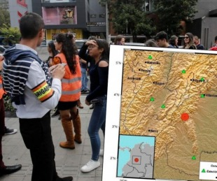 foto: Sismo en Colombia de 6.2 provocó un fuerte temblor en Bogotá