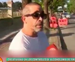 foto: Real o fake el video del conductor demorado por alcoholemia