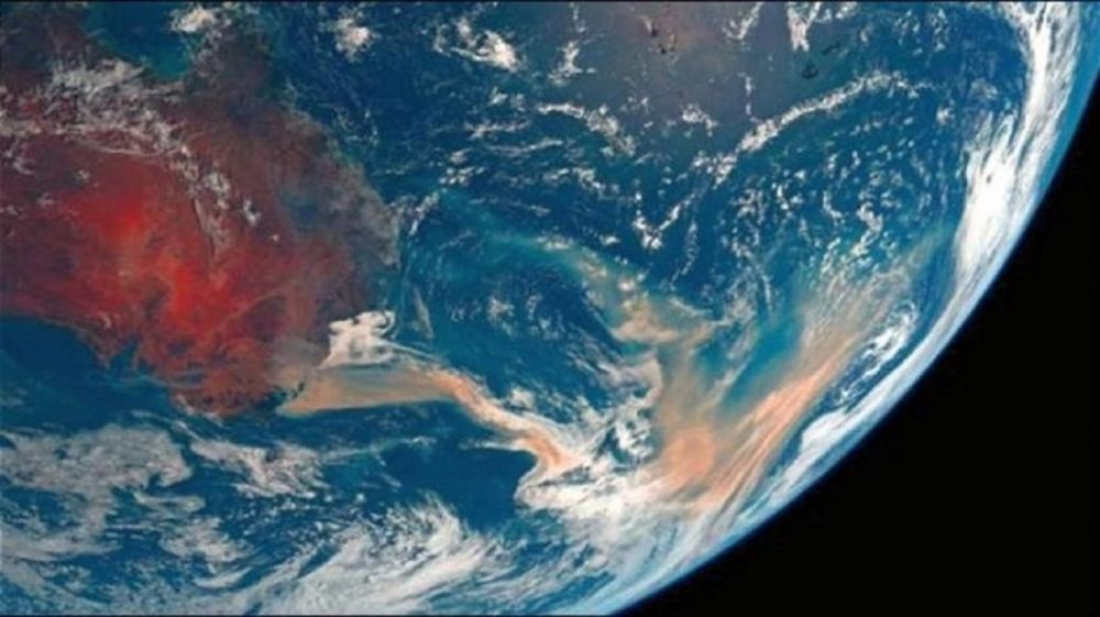 foto: Impactantes fotos satelitales de los incendios en Australia