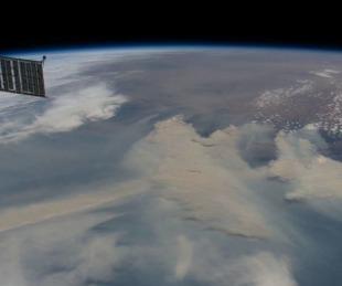 foto: Impactantes imágenes satelitales de los incendios en Australia