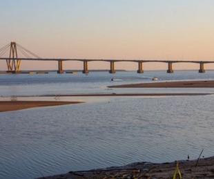foto: Por lluvias en Brasil, el Paraná recupera su nivel