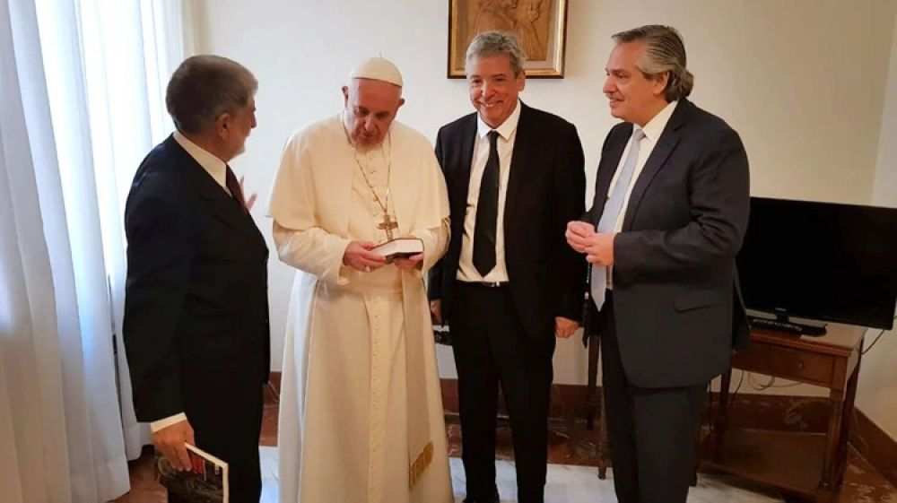 El Vaticano confirmó que el Papa recibirá a Alberto Fernández