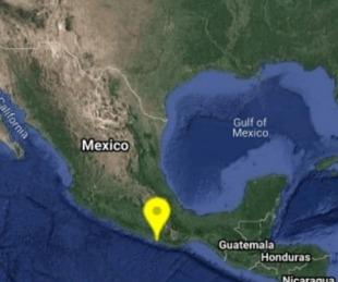 foto: Un sismo de 5.5 grados en la escala richter sacudió el sur de México