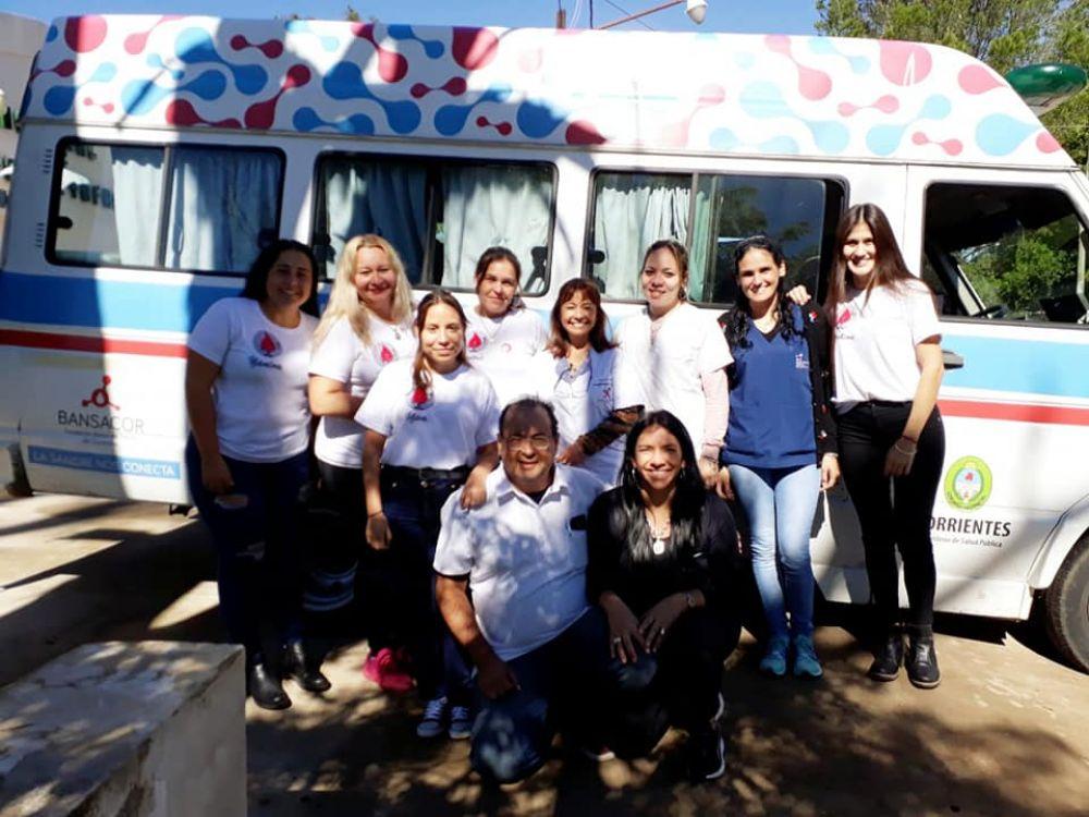 foto: El Banco de Sangre hará una colecta en San Luis del Palmar