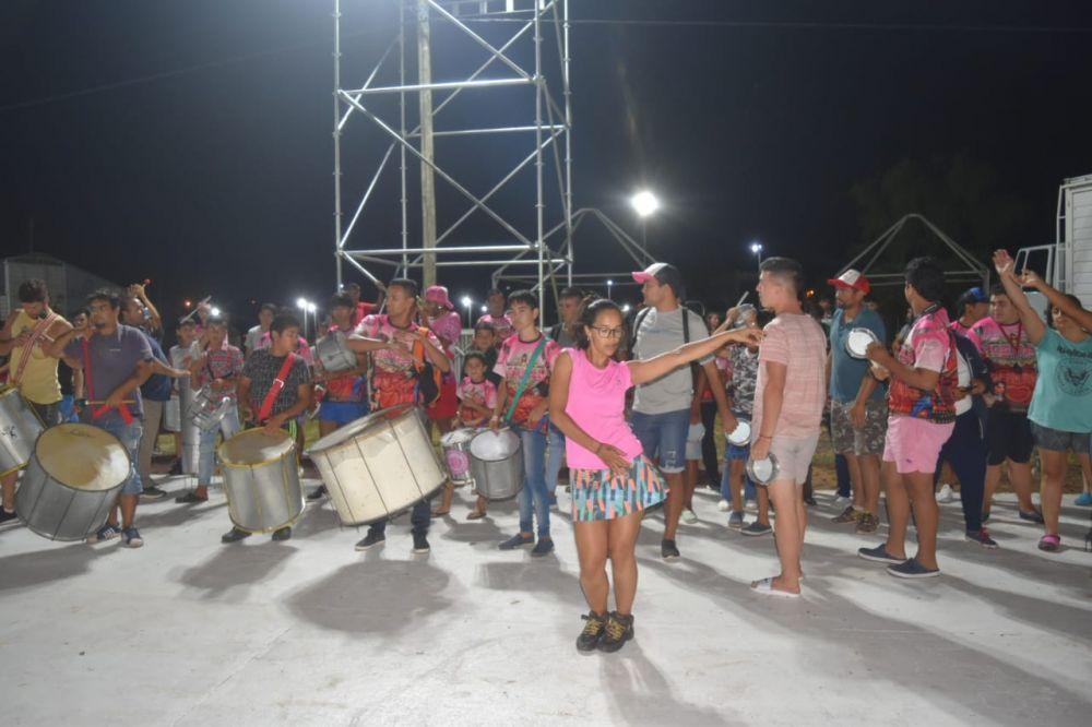 Últimos ensayos antes del inicio de los carnavales goyanos
