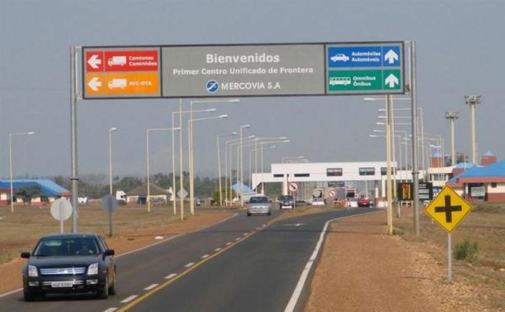 foto: Aumentó 15% la cantidad de personas que pasan hacia Brasil