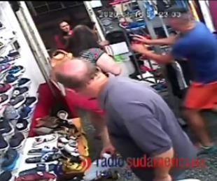 foto: Vecinos justicieros atraparon a motochorro en un intento de robo