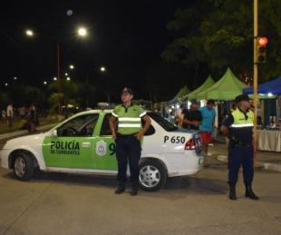 foto: Destacan operativo especial por la Fiesta Nacional del Chamamé