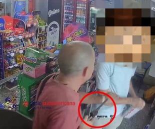 foto: Detuvieron al hombre que asaltó un kiosco en pleno centro de la ciudad